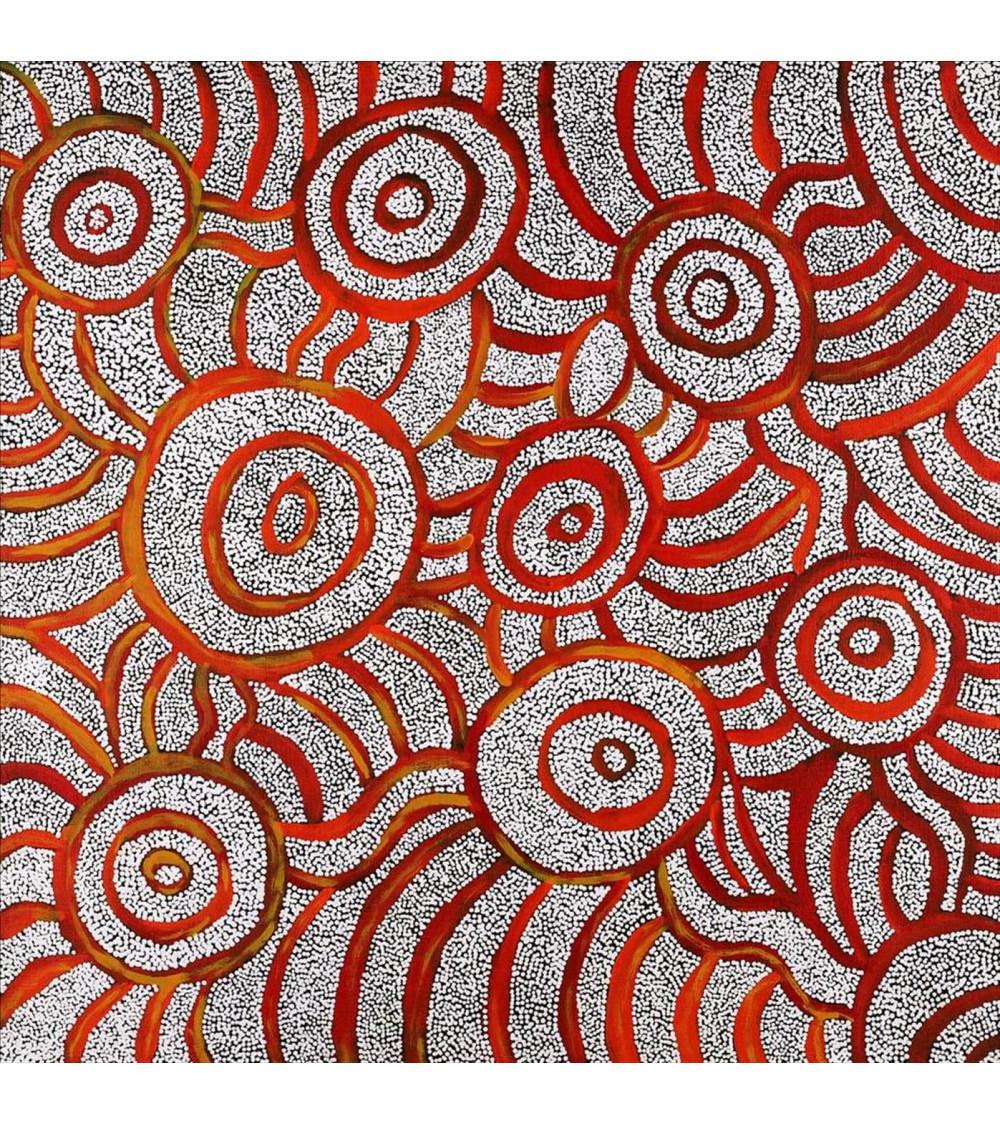Marlu Jukurrpa Red Kangaroo Dreaming - 122 x 30 cm