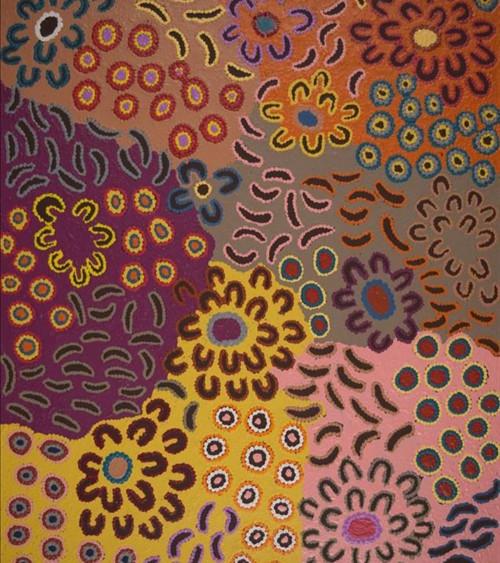 Rochelle Napaljarri - Peinture art Aborigène Australie