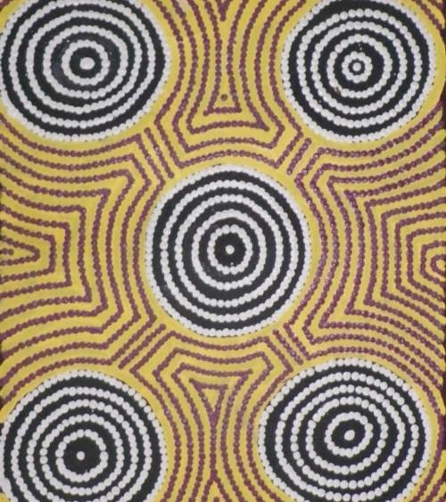 art aborigene australie Tina Bennett - 61x 30 cm