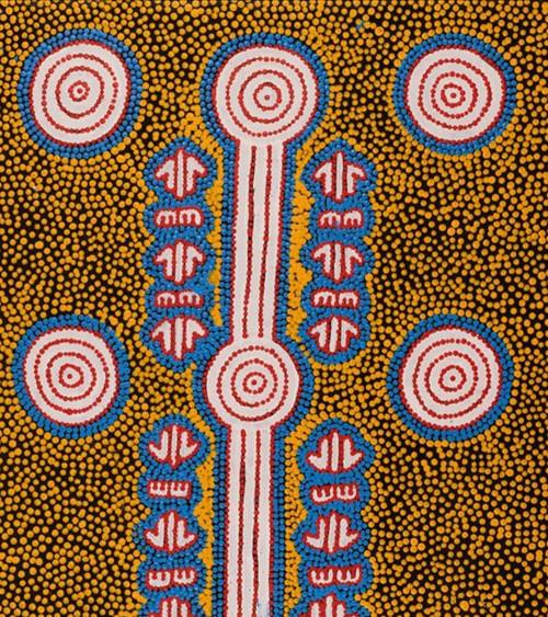 art_aborigene_australie_Michael Japaljarri