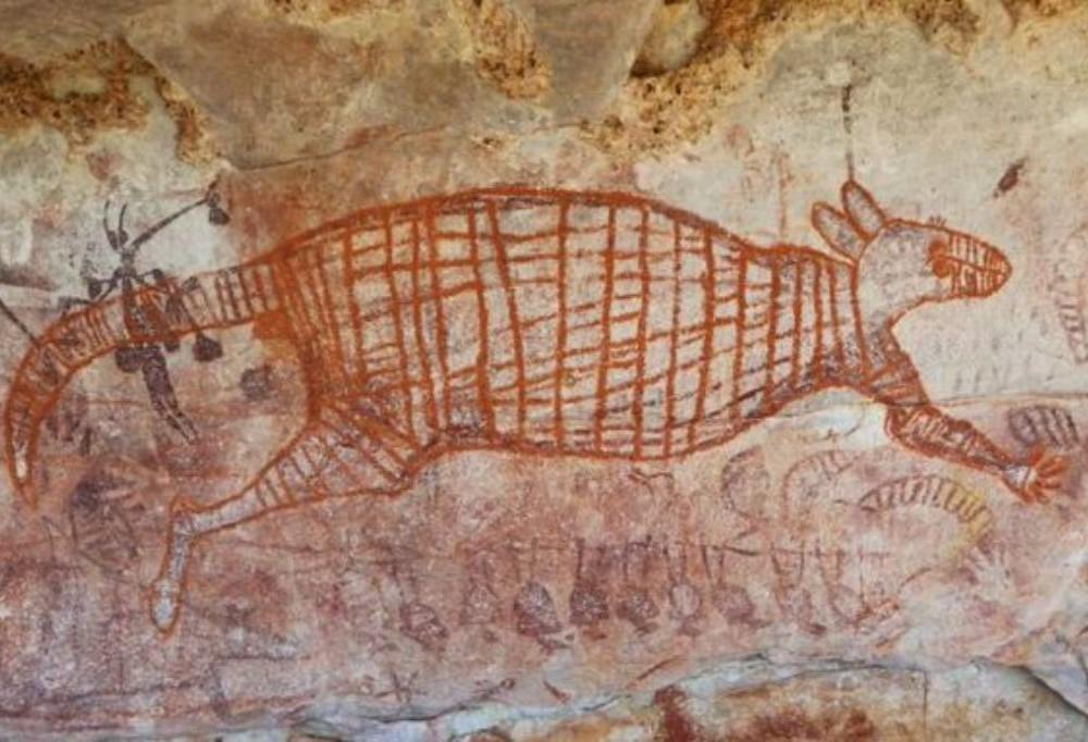 peinture aborigène Australie, datation peinture rupestre