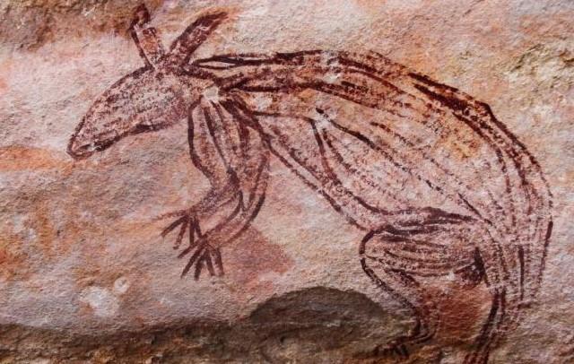 peinture rupestre aborigène Australie, art aborigène australie, art tribal