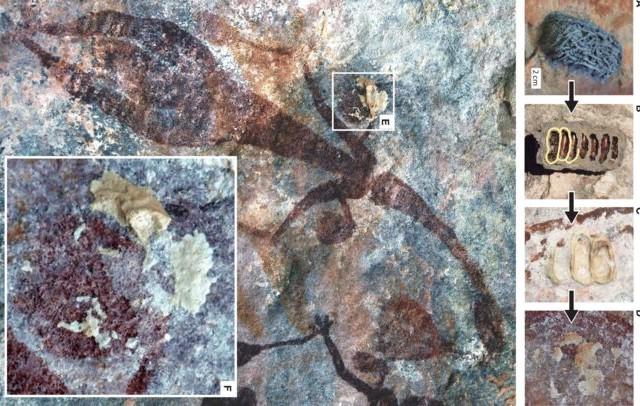 peinture rupestre aborigène Australie, art primitif tribal